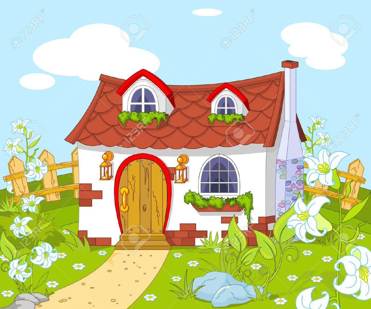 haus mit garten comic – reimplica | juliedeane, Garten ideen